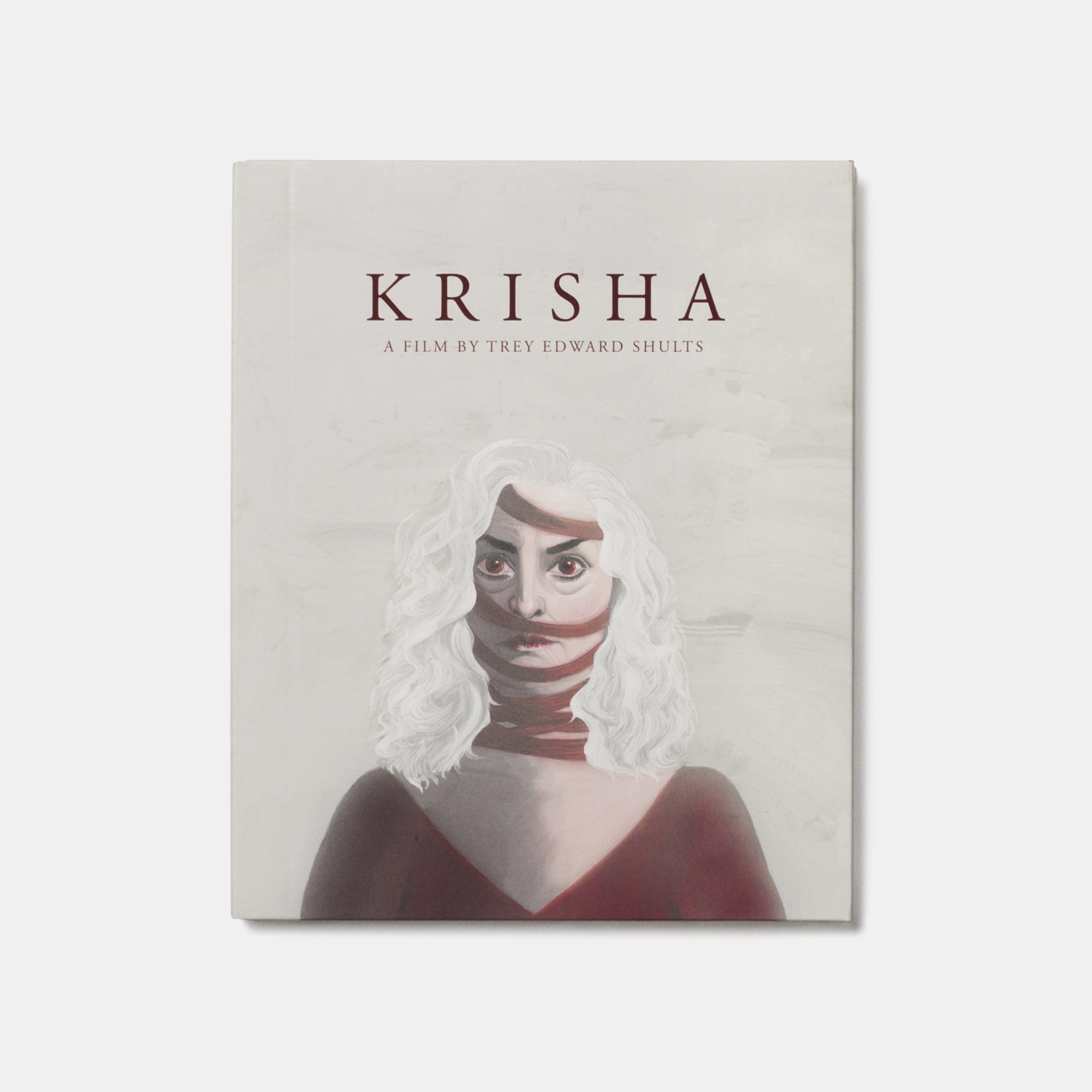 A24 Krisha Dvd Front Unsigned Grey
