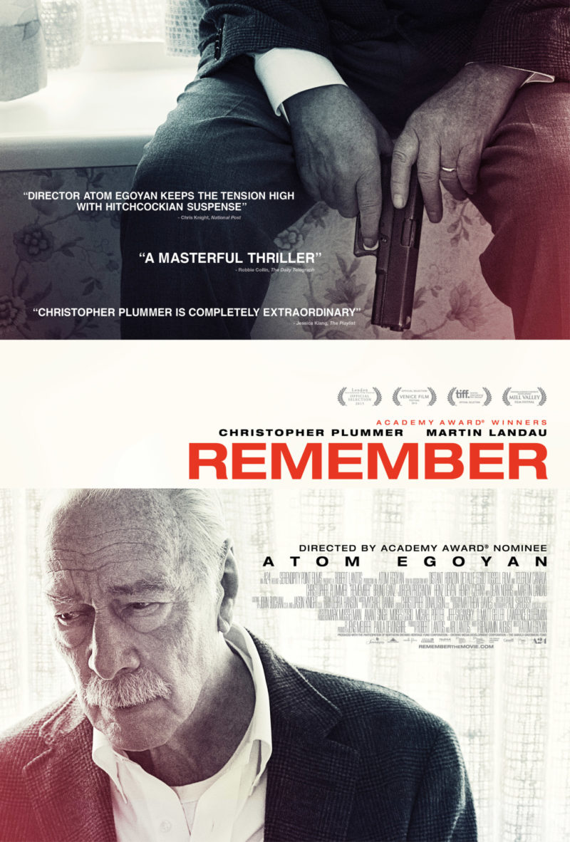A24 Remember New Version Us One Sheet M01 V1