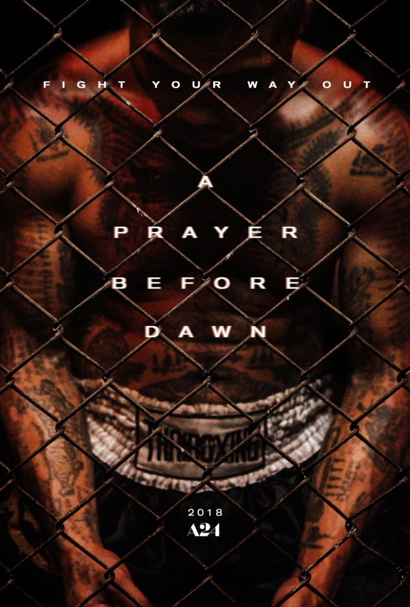 Prayer Before Dawn Teaser Poster